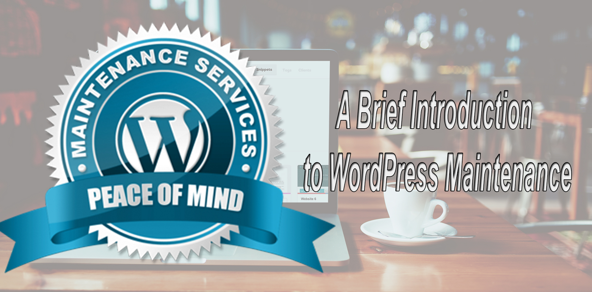 A Brief Introduction to WordPress Maintenance